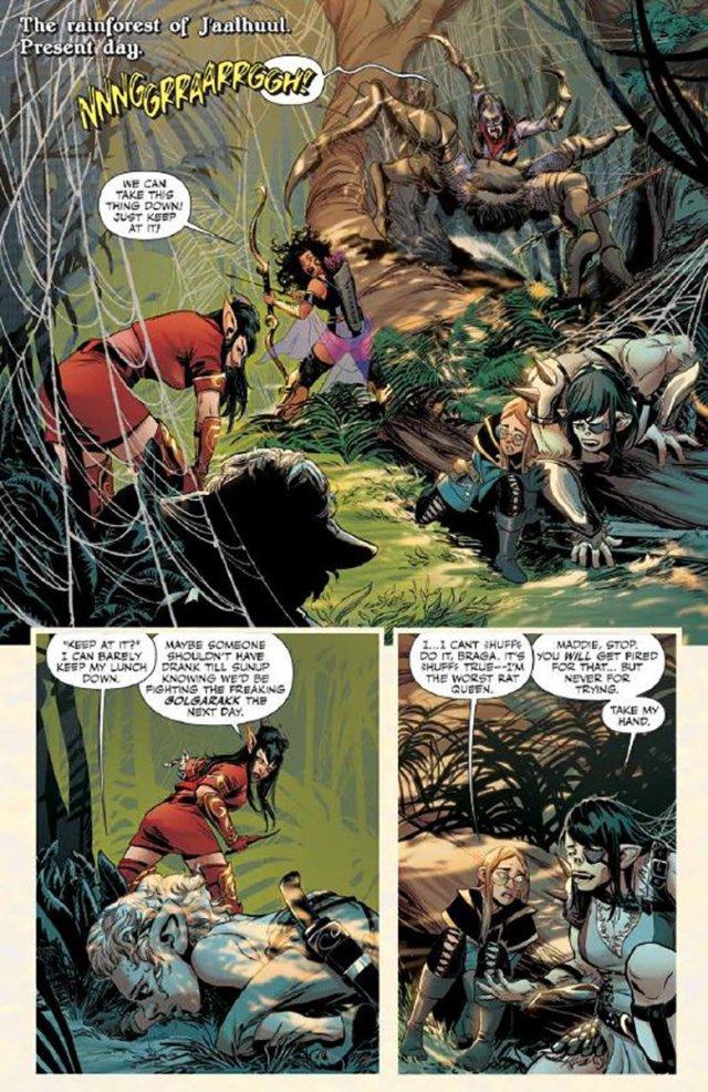 'Rat Queens #16' Page 4