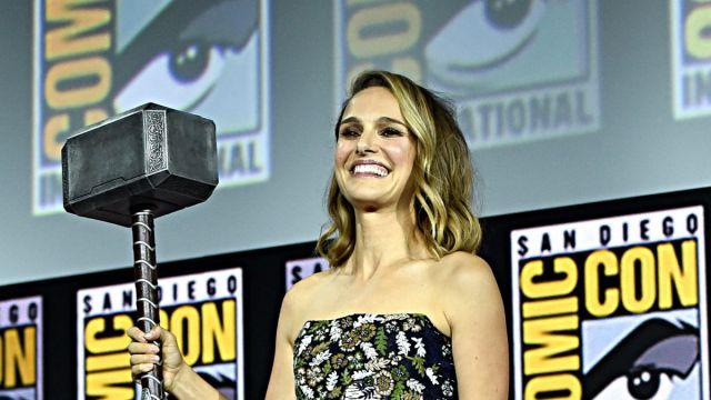 photo via Marvel Entertainment Natalie Portman Thor