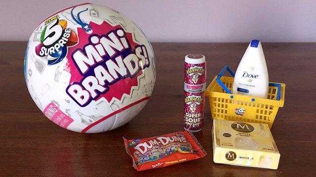 5 Surprise Mini Brands, Image: Sophie Brown