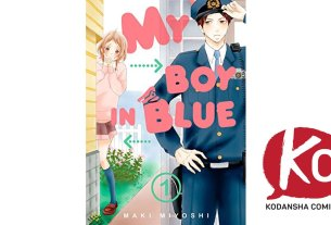 My Boy In Blue Manga Kodansha Comics
