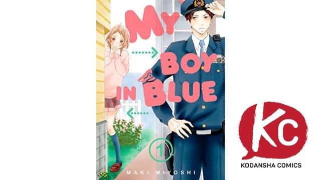 My Boy In Blue Manga Kodansha Comics