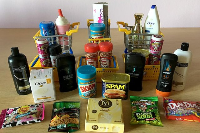 Our Haul from Six Capsules, Image: Sophie Brown