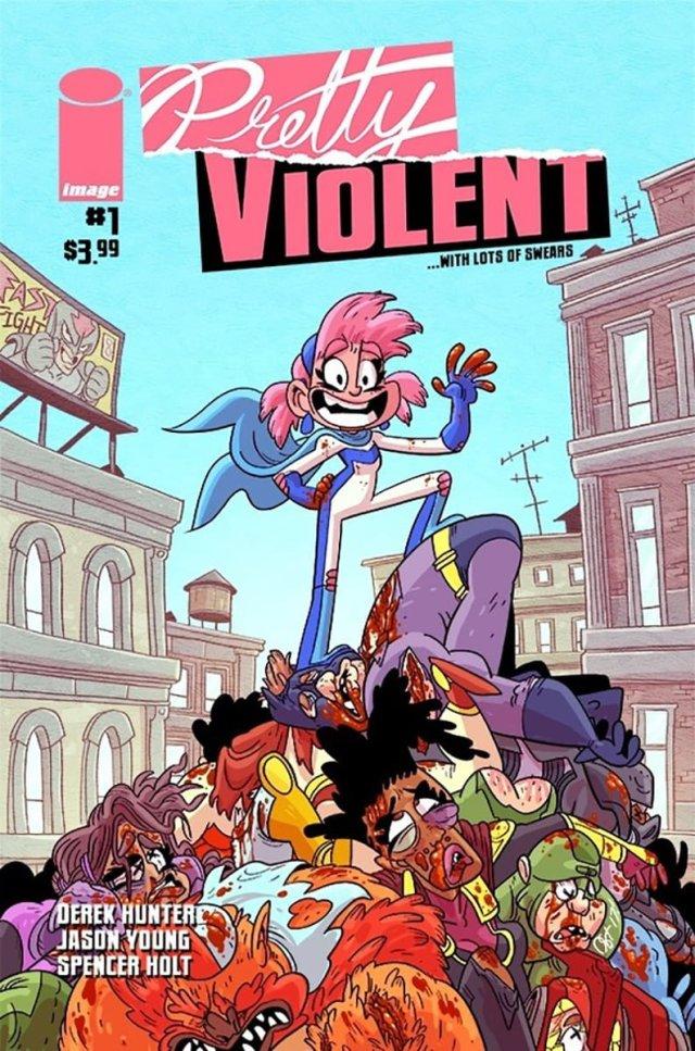 Pretty Violent #1 Cover Art