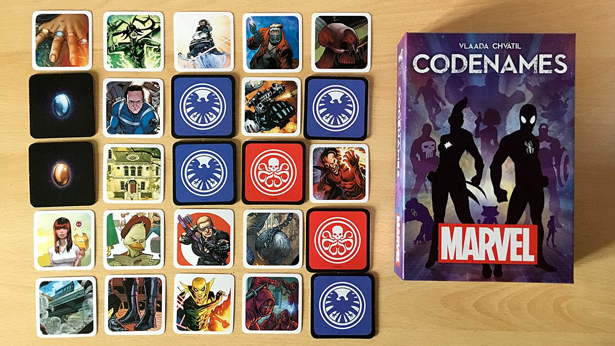 Codenames: Marvel, Image: Sophie Brown