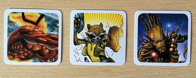 Example Codenames: Marvel Cards, Image: Sophie Brown