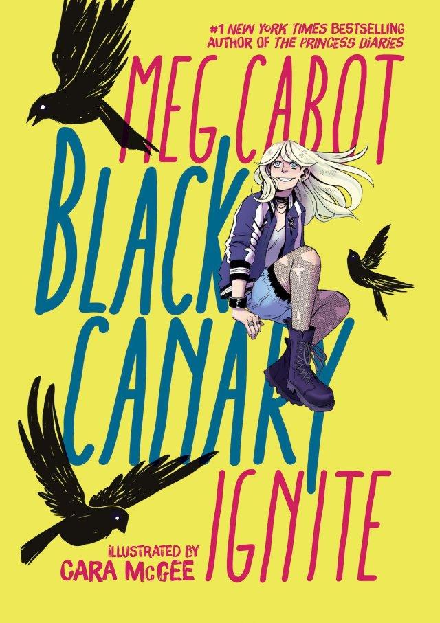 Black Canary Meg Cabot