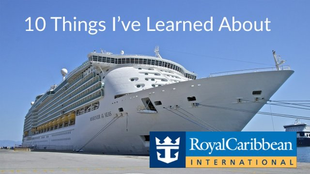 Royal Caribbean Mariner of the Seas Cruise Ship