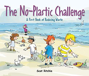 The No-Plastic Challenge, Image: Kids Can Press