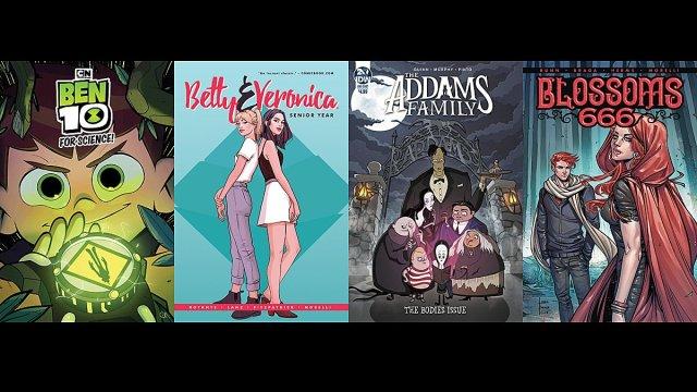 Cover Art, Images: Archie Comics, Boom, IDW