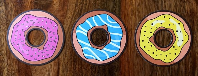 Donut Cards, Image: Sophie Brown