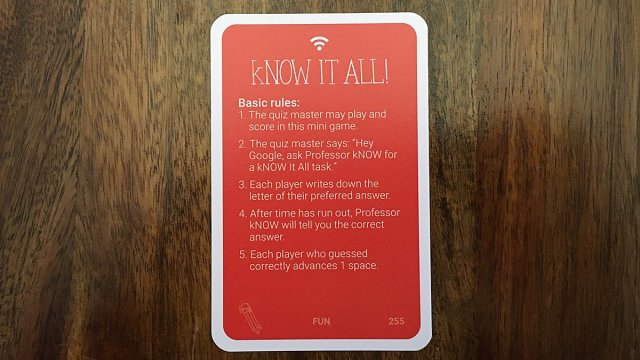 Know It All Card, Image: Sophie Brown
