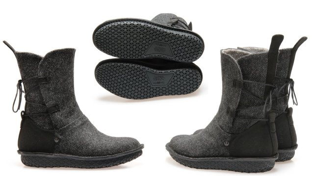 Rey Black Tweed Boots, Images: Po-Zu