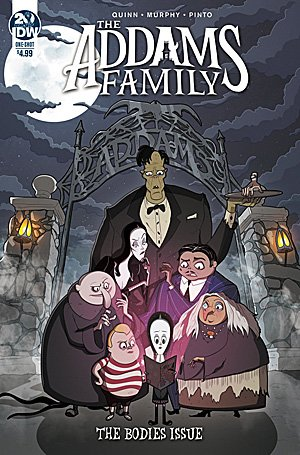 The Addams Family: The Bodies Issue, Image: IDW