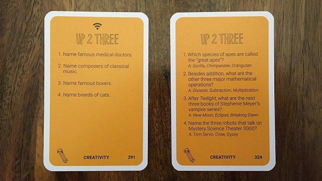Up 2 Three Cards, Image: Sophie Brown