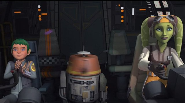 Hera and Jacen Syndulla in Star Wars Rebels, Image: Disney