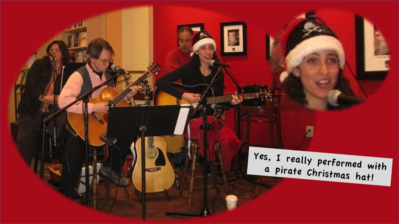 Rebecca Angel and Pirate Carols