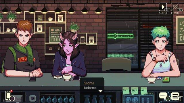 Customers in Coffee Talk, Image: Chorus Worldwide