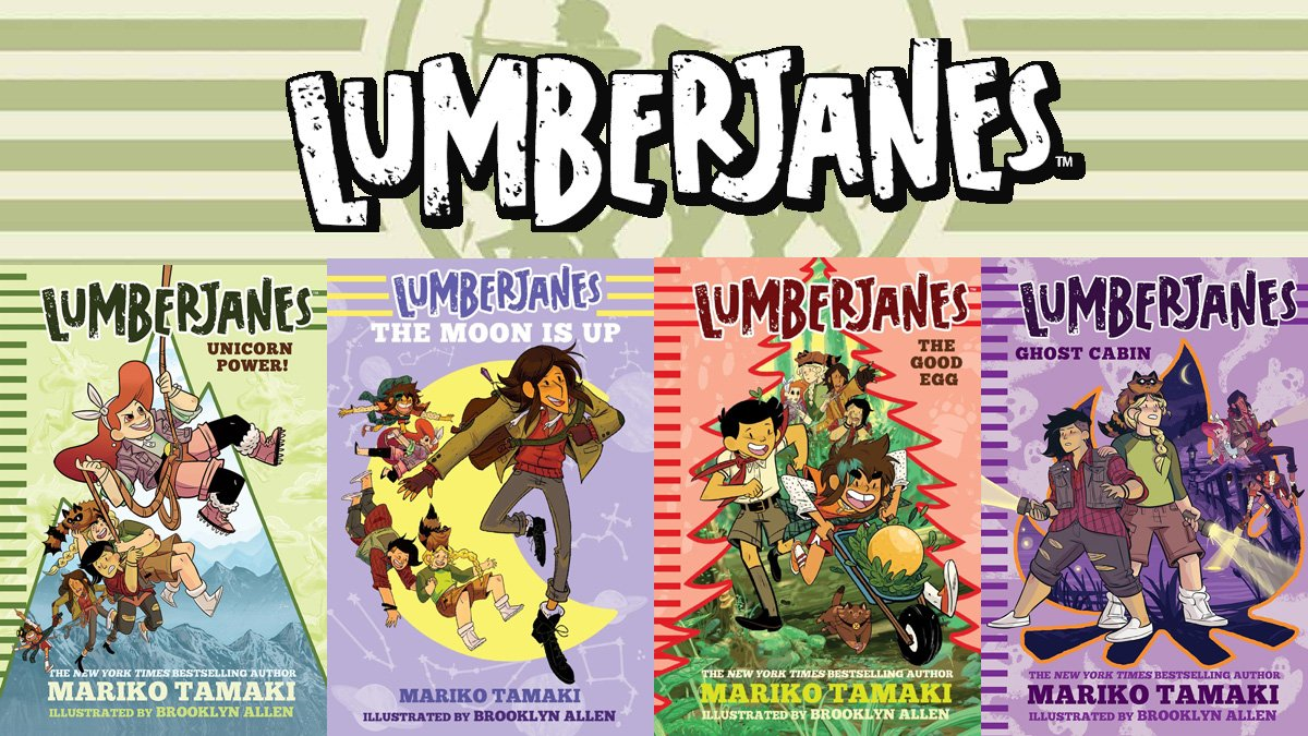 Lumberjanes Novels, Images: Boom Comics and Amulet Books