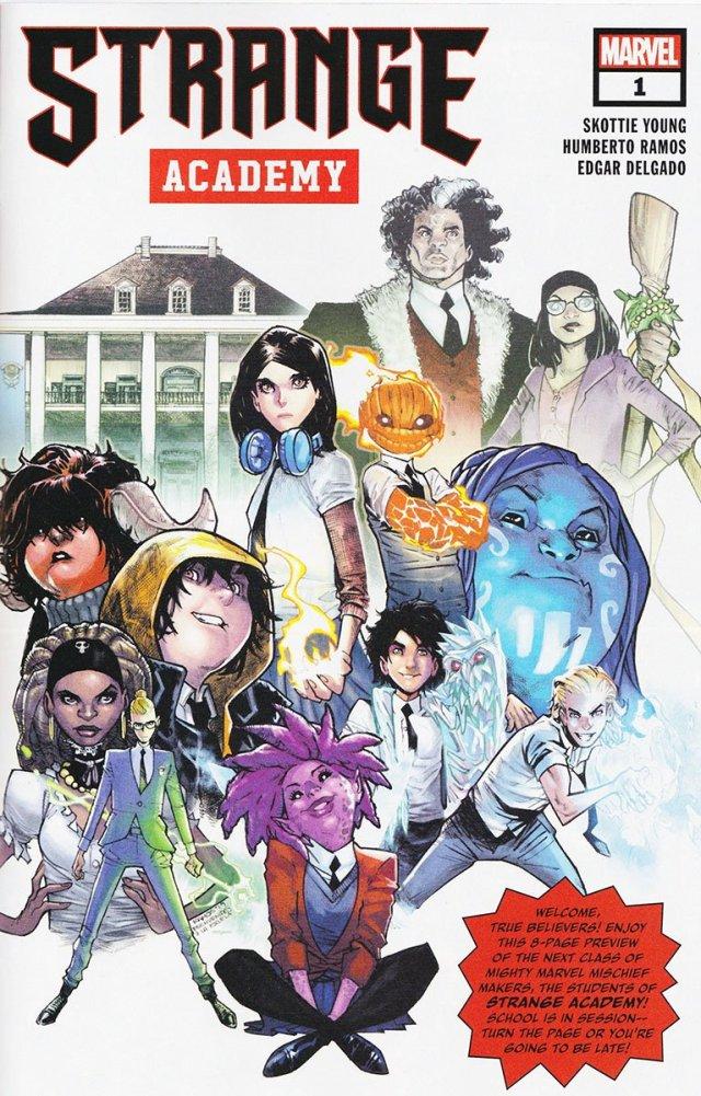 'Strange Academy' Cover Art