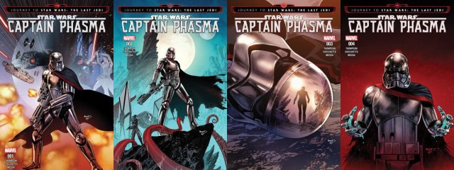 Captain Phasma Covers, Images Marvel