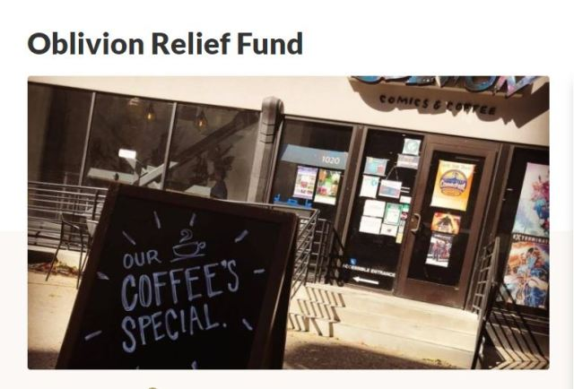 To Support Oblivion Comics & Coffee Please click on this image