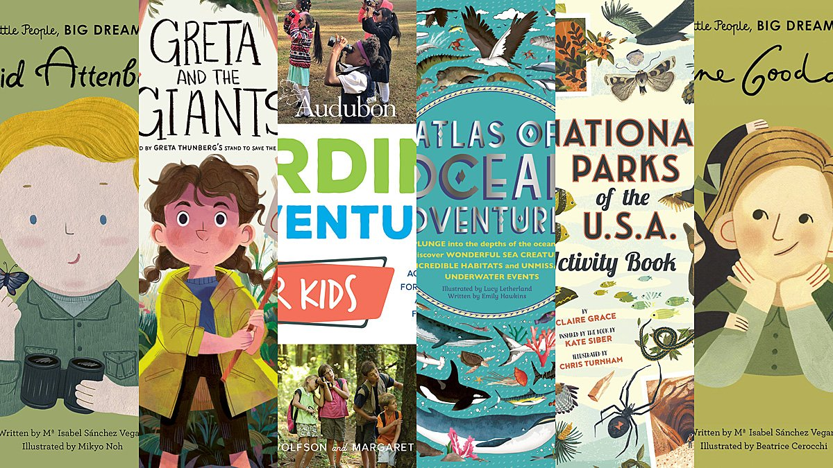 Earth Day Books 2020, Images Wide Eyed Editions