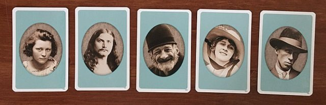 Example Face Cards, Image Sophie Brown