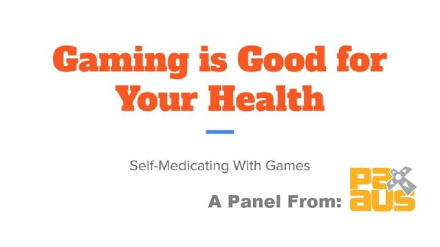 Gaming is Good for Your Health