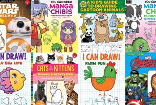 How-To-Draw Books, Image Copyright As Noted Below