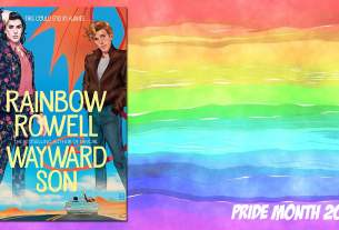 Pride Month Wayward Son, Background Image by Prawny from Pixabay, Cover Image Macmillan Children's Books