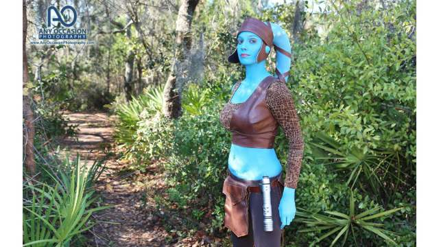Dakster Sullivan as Aayla Secura \ Image: Any Occasion Photography