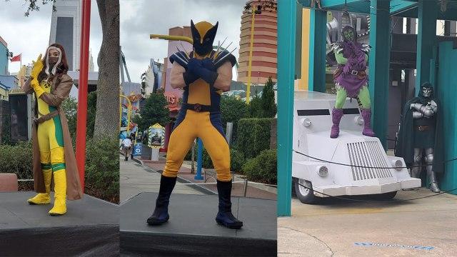 Rouge, Wolverine, Goblin, Doom