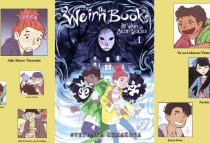 cover to graphic novel The Weirn Books