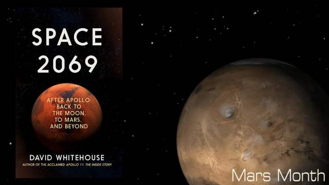 Space 2069 Cover, Icon Books, Mars Image NASA