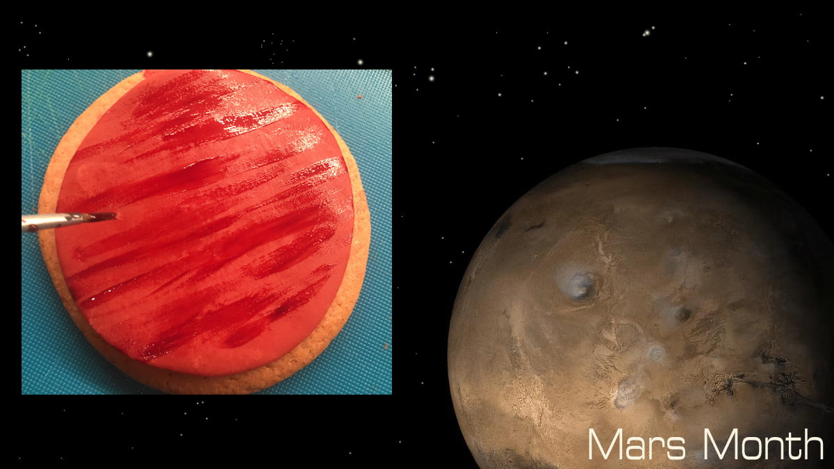 Mars Cookies, Image Sophie Brown, Mars Background Image NASA