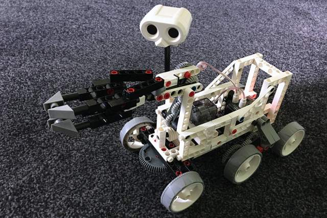 Our Completed Mars Rover, Image Sophie Brown