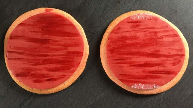 Painted Mars Cookies, Image Sophie Brown
