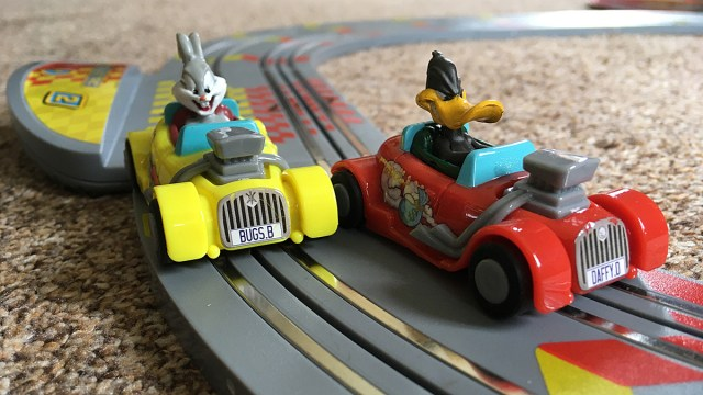 Bugs and Daffy are Ready to Race, Image Sophie Brown