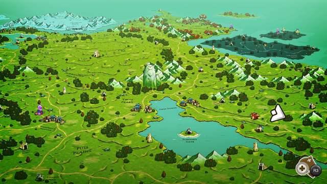 Looking down at Felingard, Image The Gentlebros