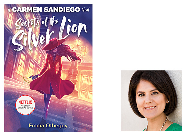 Secrets of the Silver Lion Cover Image MHM Books for Young Readers, Author Image Emma Otheguy