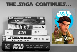 The Saga Continues, Poe Dameron Free Fall, Cover Image Disney Lucasfilm Press