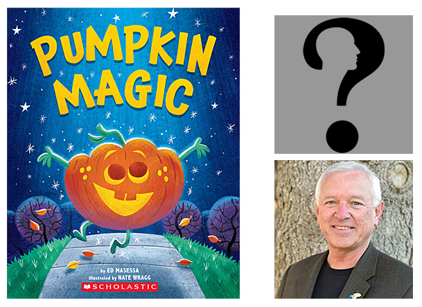 Pumpkin Magic Cover Image Scholastic, Author Image Ed Masessa, Illustrator Image by Gordon Johnson from Pixabay