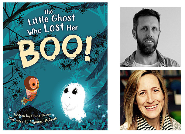 The Little Ghost Who Lost Her Boo Cover Image Philomel Books, Author Image Elaine Bickell