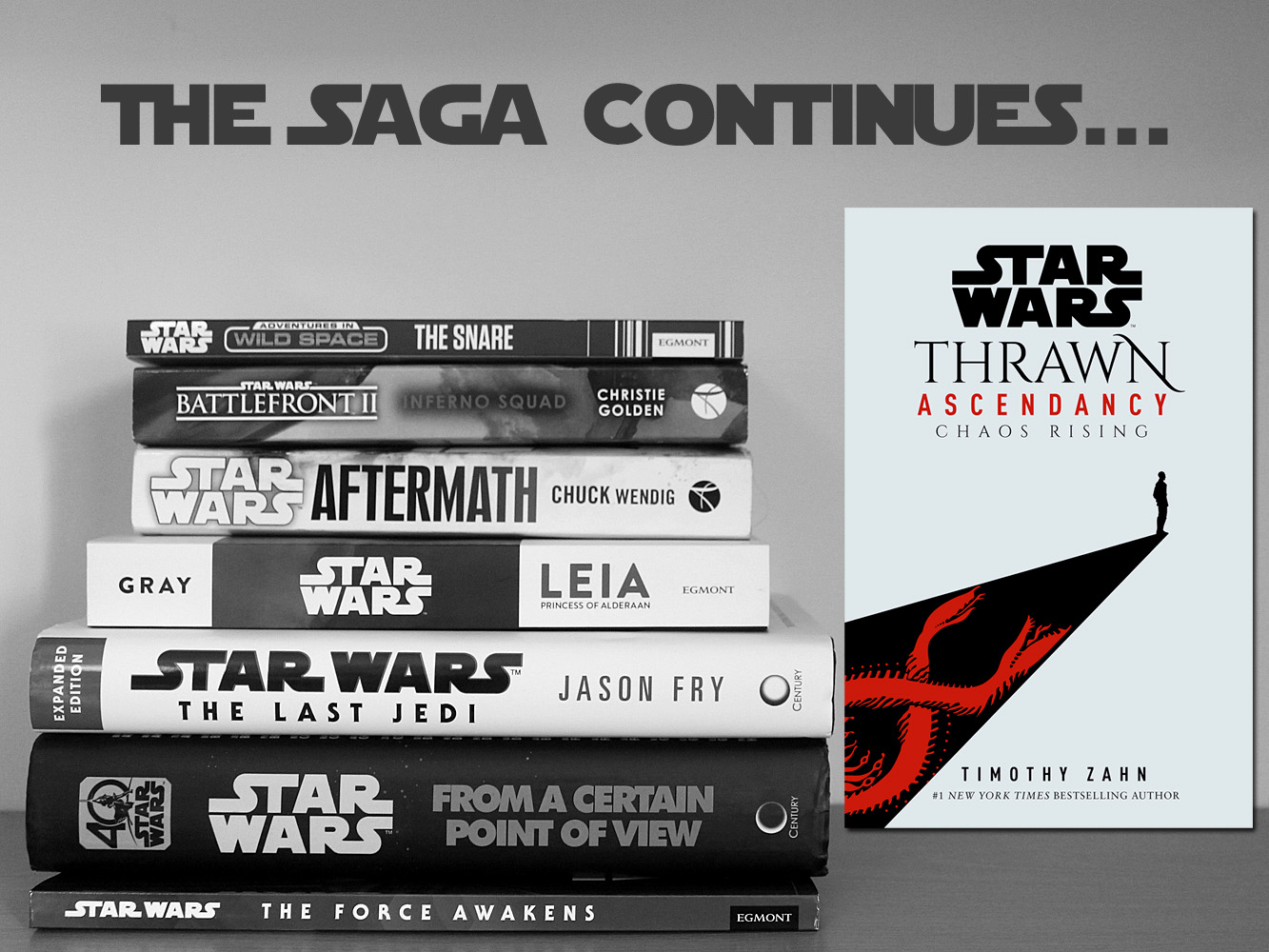 The Saga Continues, Thrawn Ascendancy Chaos Rising, Image Del Rey