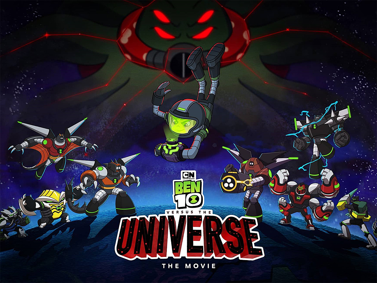 Ben 10 Versus the Universe, Image Cartoon Network