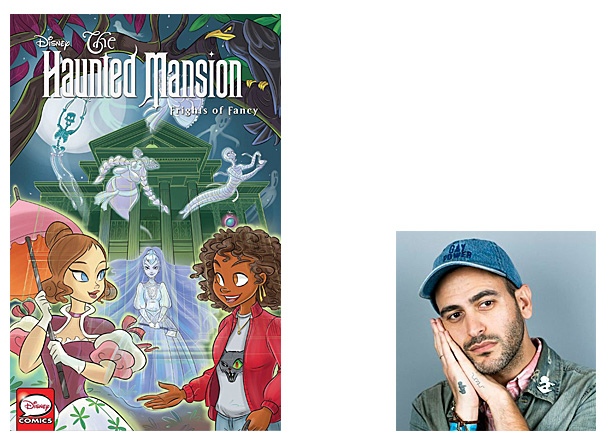 The Haunted Mansion Cover Image IDW Comics, Author Image Sina Grace