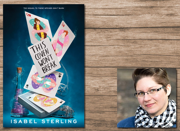 This Coven Won't Break Cover Image Razorbill, Author Image Isabel Sterling