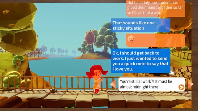 Choosing a Text Message Option, Screenshot Sophie Brown