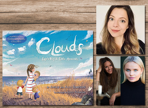 Clouds Cover Image Aladdin, Author Images Glenn Nutley and Carried Macleod Photography, Illustrator Image Lucy Fleming