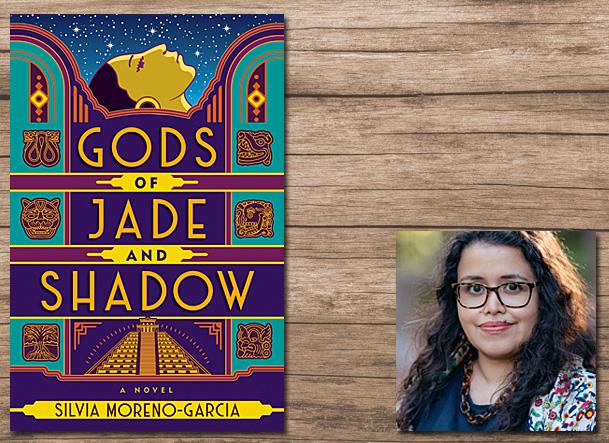Gods of Jade and Shadow Cover Image Jo Fletcher Books, Author Image Silvia Morena-Garcia
